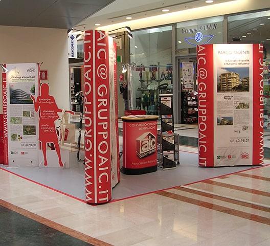 AIC è uno dei clienti storici di Sogester, attiva nella pubblicità e nell'organizzazione di eventi a Roma