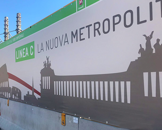 Allestimenti Sogester   Metro C Parco Colosseo