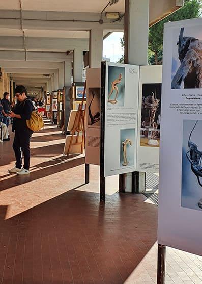 L'Arte nel Portico 2020   La mostra di Alfiero Nena