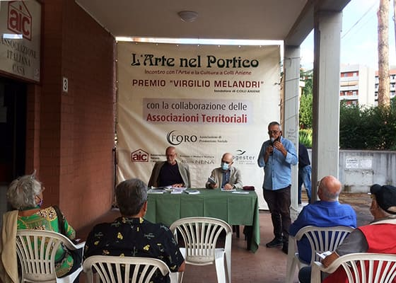 L'Arte nel Portico 2020   Evento Vincenzo Luciani