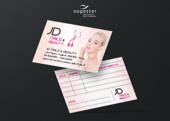 Biglietti da visita - JD Beauty & Nails