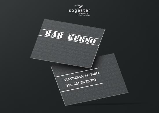 Biglietti da visita - Bar Kerso