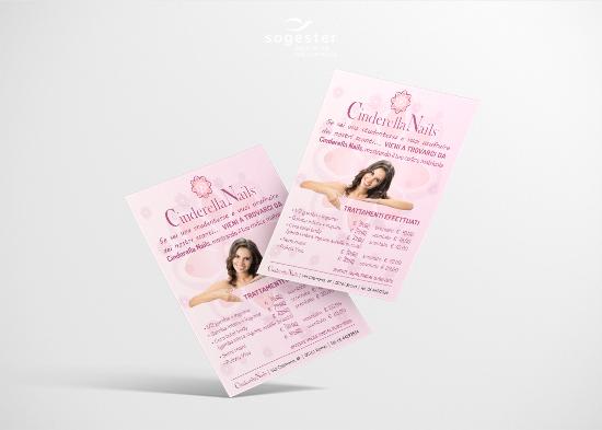 Volantini Locandine Flyer - Cinderella Nails -