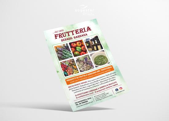 Volantini Locandine Flyer - Frutteria