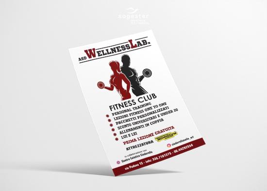 Volantini Locandine Flyer - Welness Lab